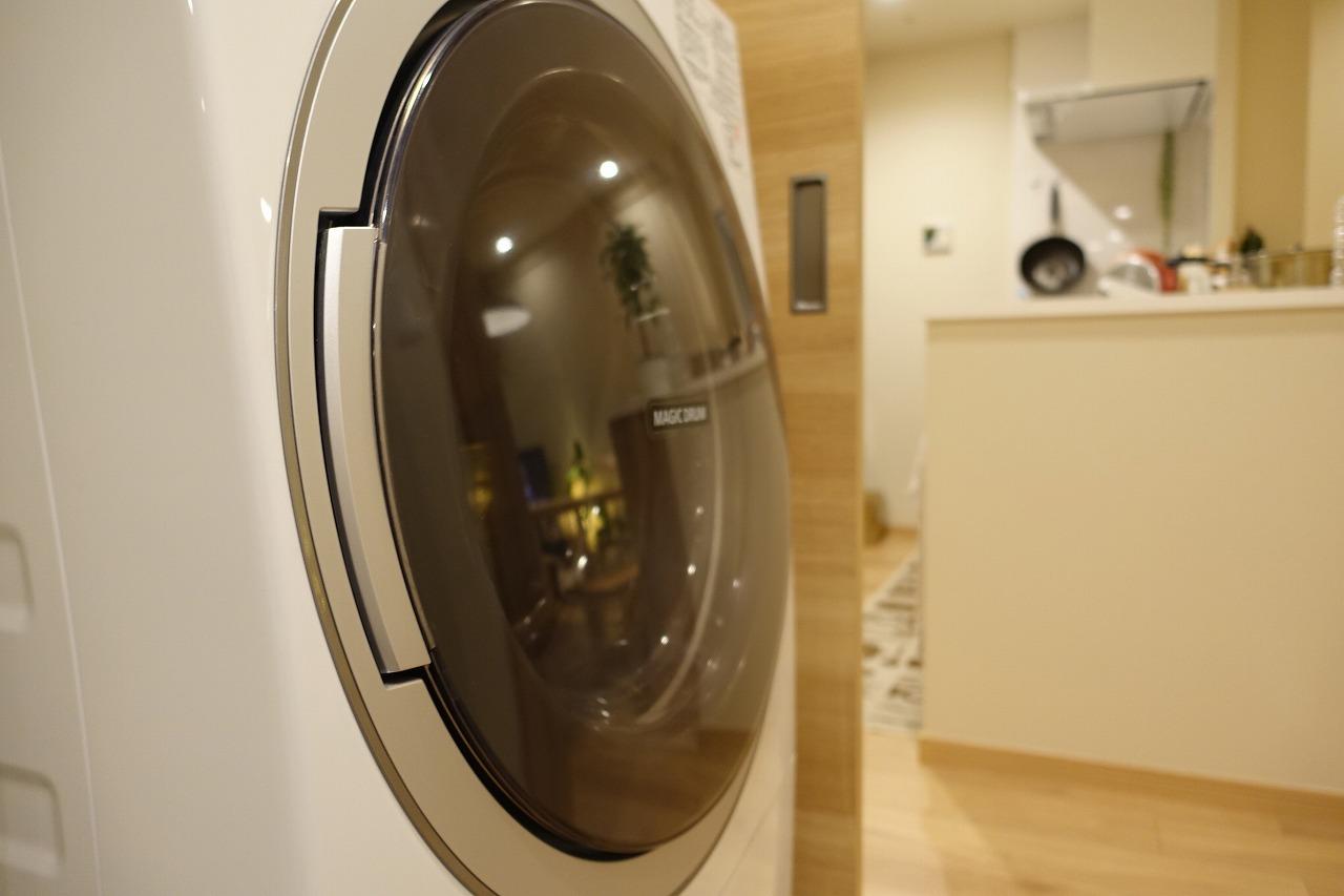 ドラム式洗濯機で時間と場所を節約しよう